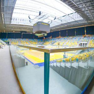 Innovación en acero inoxidable en el pabellón multiusos Gran Canaria Arena